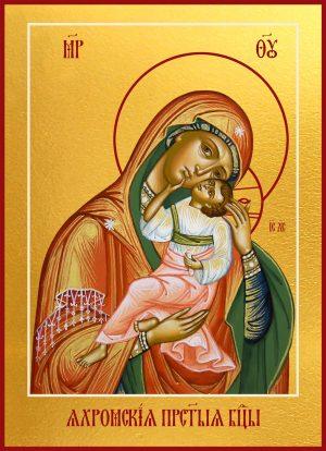 Купить Яхромскую икону Божией Матери