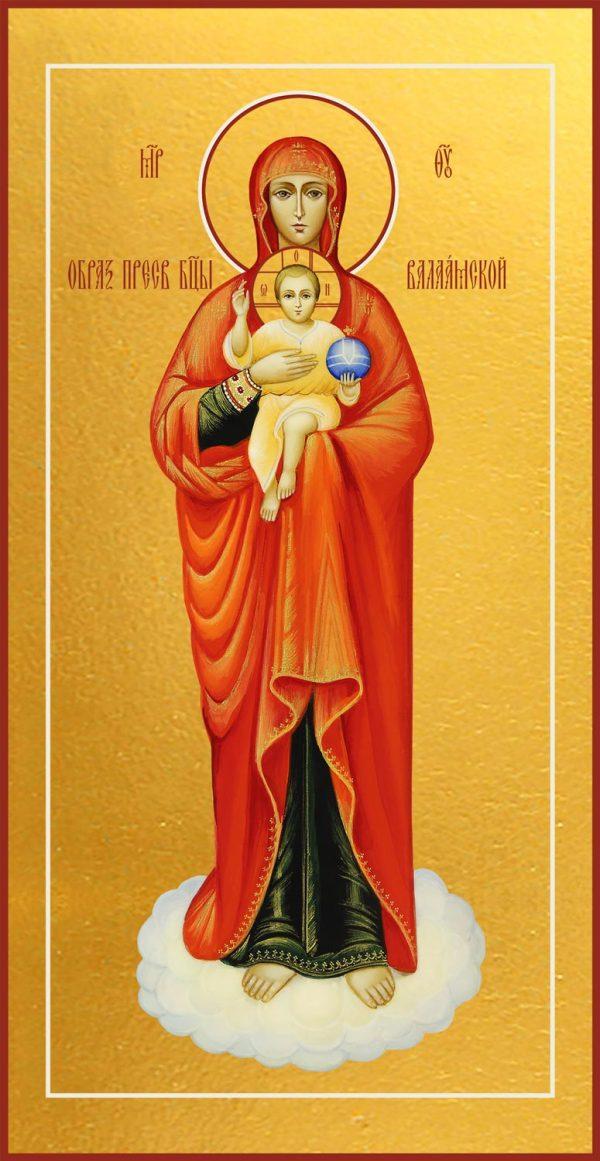 купить Валаамскую икону Божьей Матери