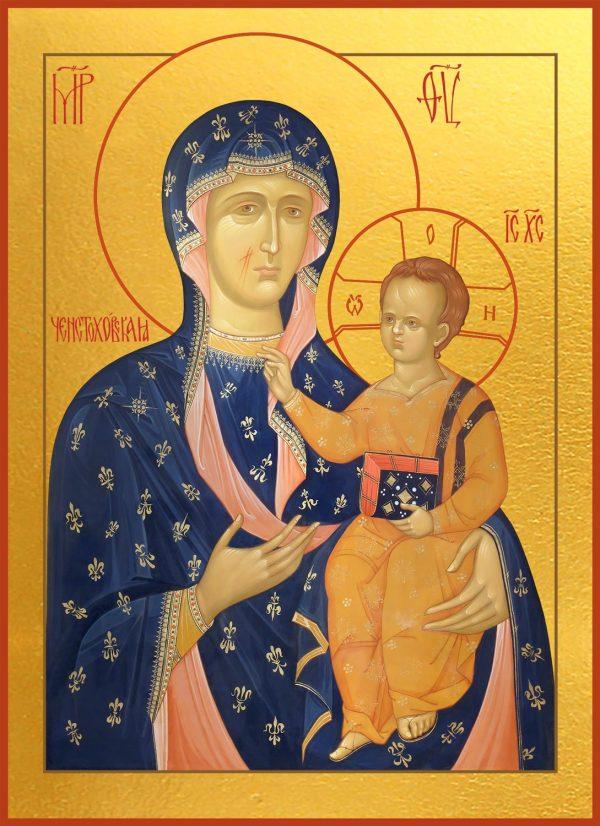 купить Ченстоховскую икону Божией Матери