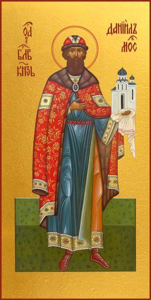 Мерная икона Даниил Московский благоверный князь