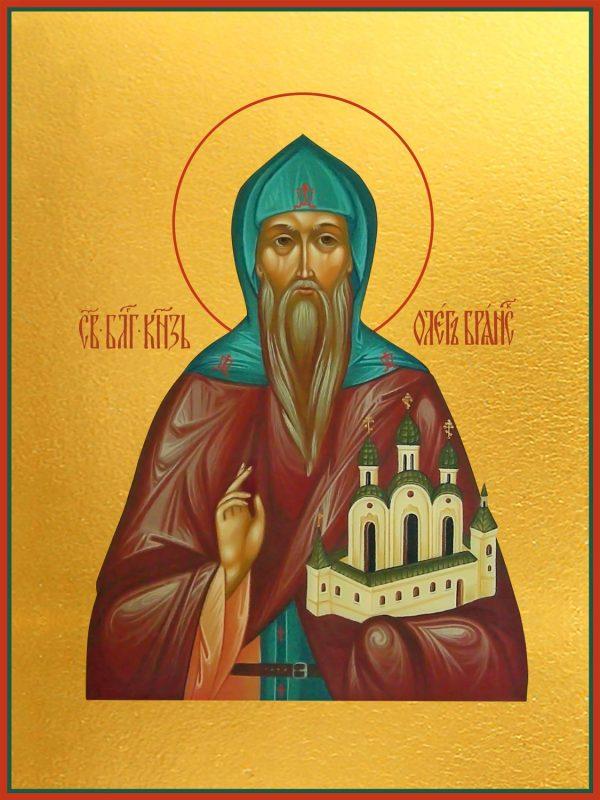 купить икону святого Олега Брянского