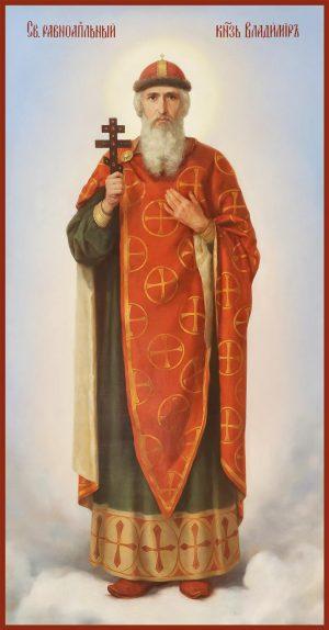 купить икону святого Равноапостольного князя Владимира