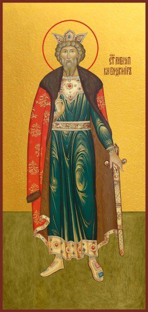 Мерная икона Владимир равноапостольный великий князь