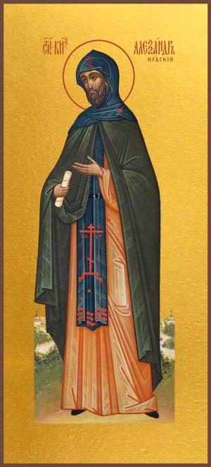 Мерная икона Александр Невский благоверный князь