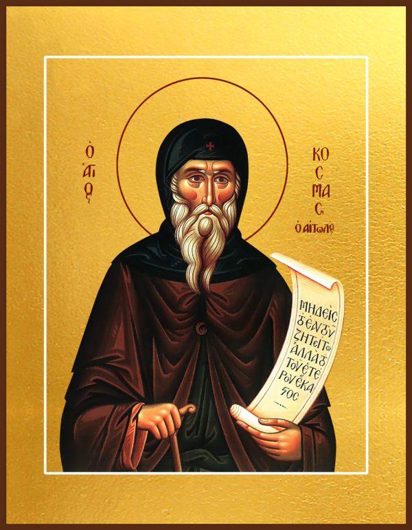 Купить икону святого Космы Этолийского