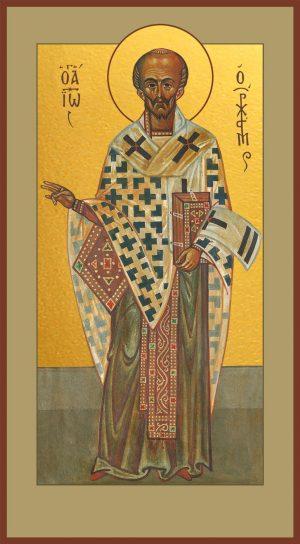 Мерная икона Иоанн Златоуст святитель