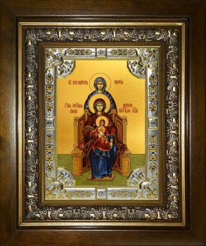 купить икону Пресвятая Богородица с Младенцем Христом, Анна и Мария праведные праматери