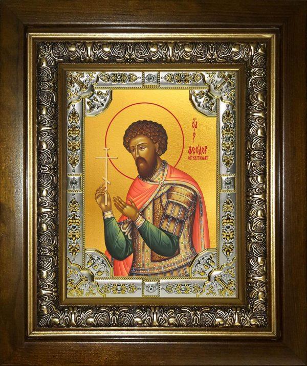 купить икону святой Феодор Стратилат