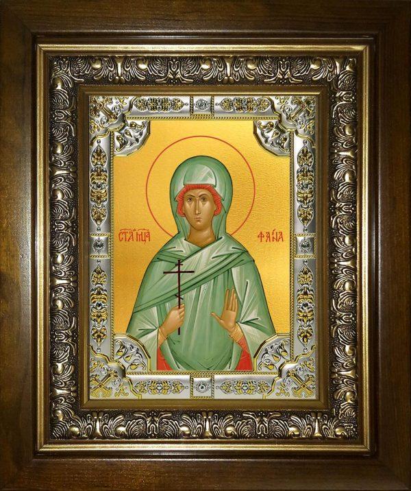 купить икону святая Фаина Анкирская