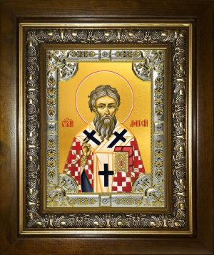 купить икону святой Дионисий Ареопагит