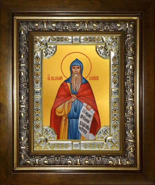 купить икону святой Пахомий Великий