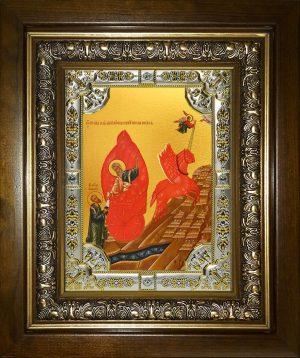 купить икону Огненное Восхождение Илии пророка