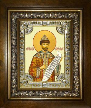купить икону святой Николай император