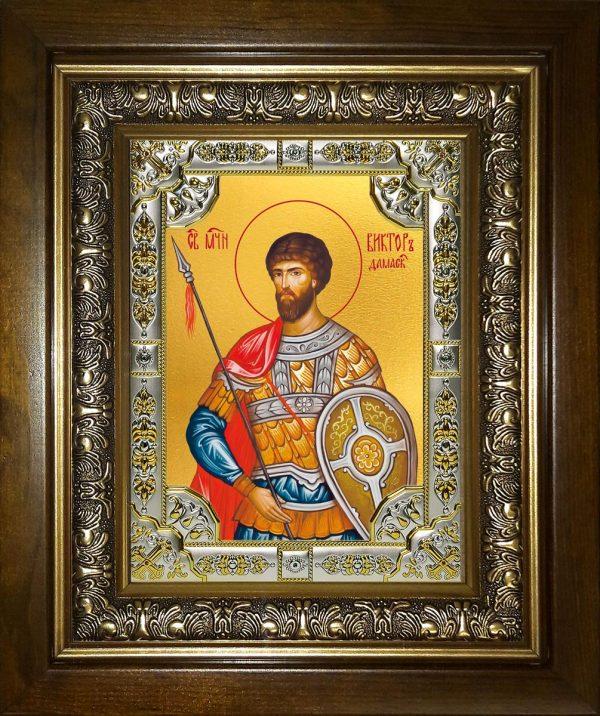 купить икону Виктор Дамасский Святой мученик