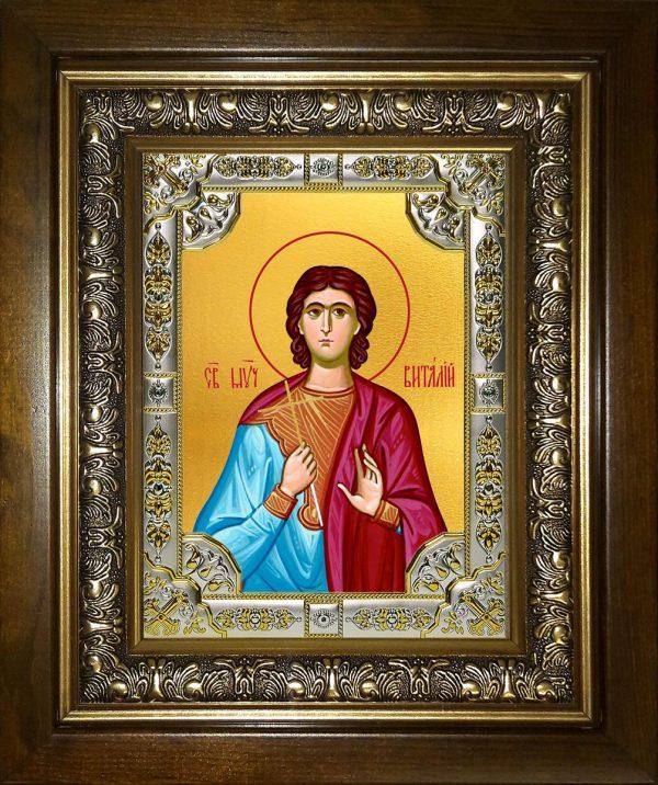 купить икону святой Виталий Римлянин