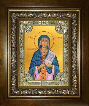 купить икону святая Евфимия Всехвальная