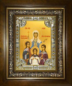 купить икону святых Веры, Надежды, Любови и Софии