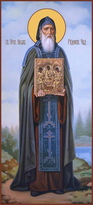 купить мерную икону Никон Радонежский
