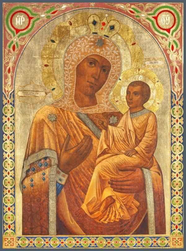 купить икону Божией Матери Старорусская