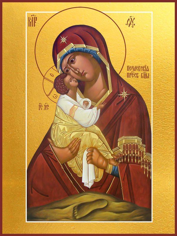 купить икону Почаевская Божией Матери