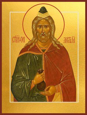 купить икону святого праведного Филарета Милостивого