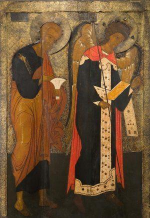 икону апостола Петра и Михаила Архангела