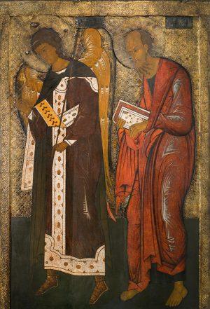 купить икону Павла апостола и Гавриила Архангела