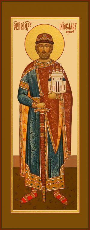 купить икону Ярослава Мудрого