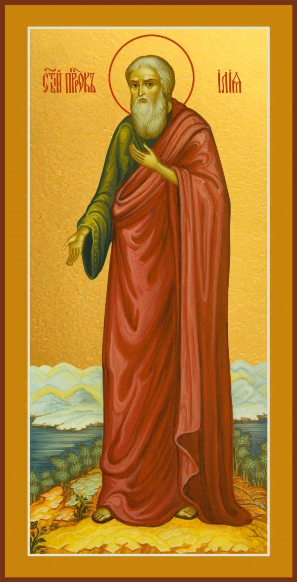 купить икону Ильи пророка