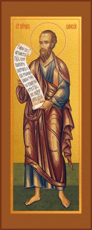 купить икону Елисея пророка