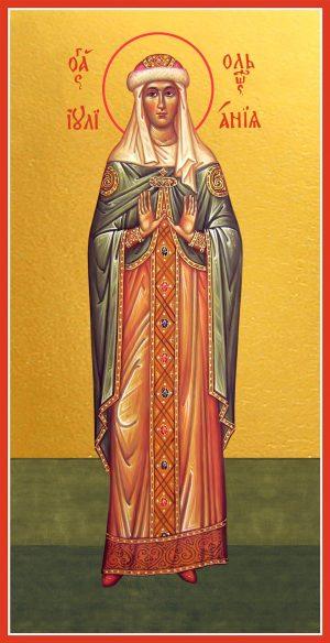 Купить икону Иулиании (Ульяны) Ольшанской