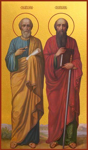 купить икону Петр и Павел апостолы