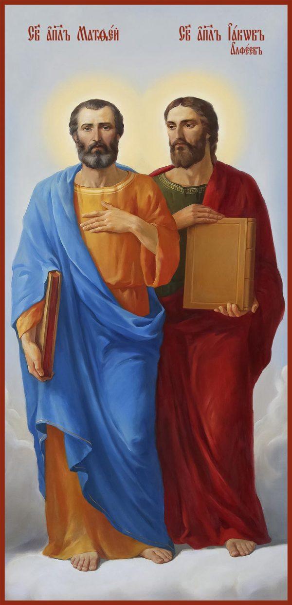 купить икону Матфей и Иаков Алфеев апостолы