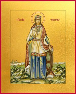 купить икону святой Екатерины великомученицы
