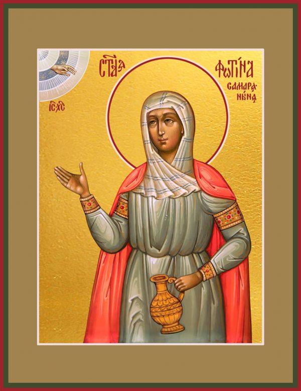 купить икону святой Фотины (Светланы) Самаряныни, Римской