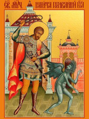 купить икону святого Никиты Бесогона, мученика