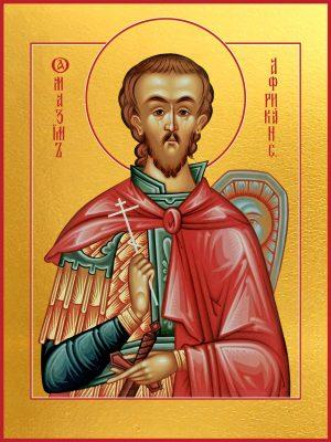 купить икону святого Максима Африканского, мученика