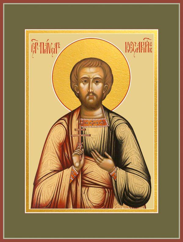 купить икону святого Павла Кесарийского, Палестинского, мученика