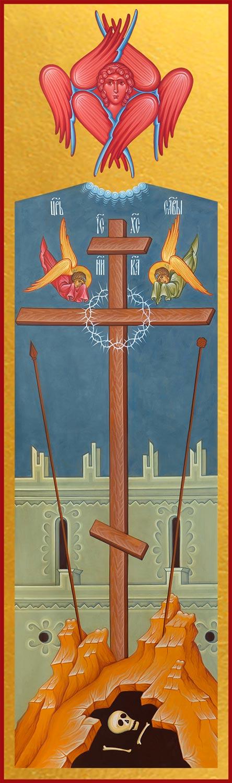 купить икону Животворящий Крест Господень