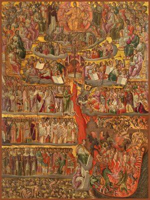 купить икону Второе пришествие Иисуса Христа
