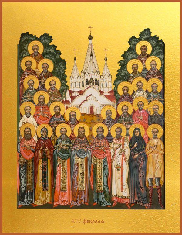 купить икону Собор новомучеников Бутовских