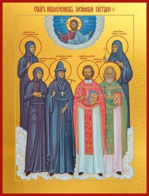 купить икону Собор новомучеников Зосимовой пустыни