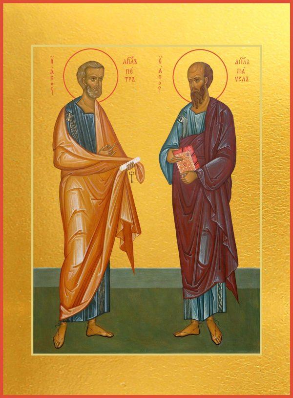 купить икону Петр и Павел апостол
