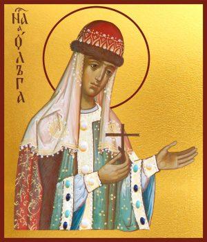 купить икону Ольга равноапостольная княгиня