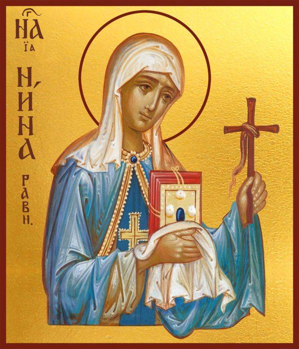 купить икону Нины просветительницы Грузии