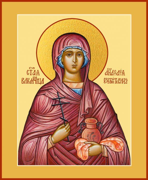 купить икону Анастасии Узорешительницы, великомученицы