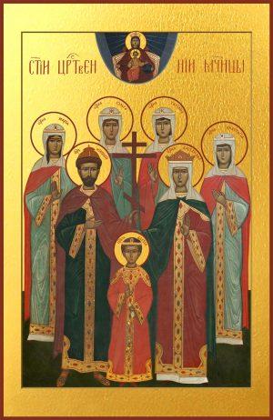 купить икону Царственные Мученики