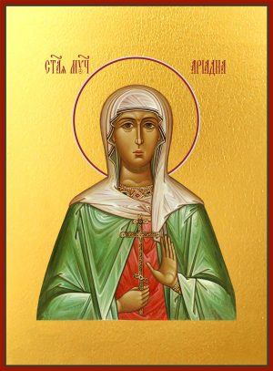 купить икону святой Ариадны Промисской мученицы