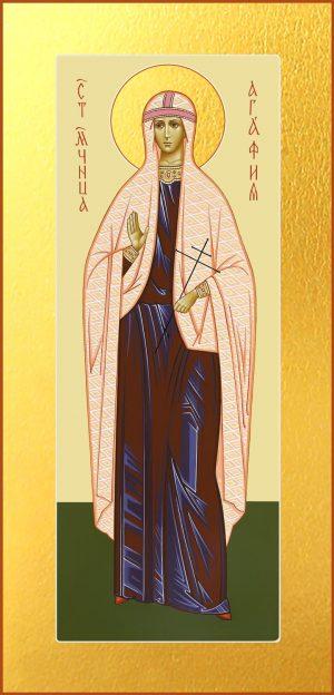 купить икону Агафии мученицы