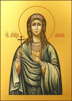 купить икону Любови мученицы